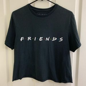 REMOVING 7-12-20. FRIENDS cropped tee